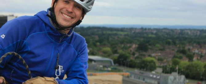 Dave Talbot - Charity abseil specialist
